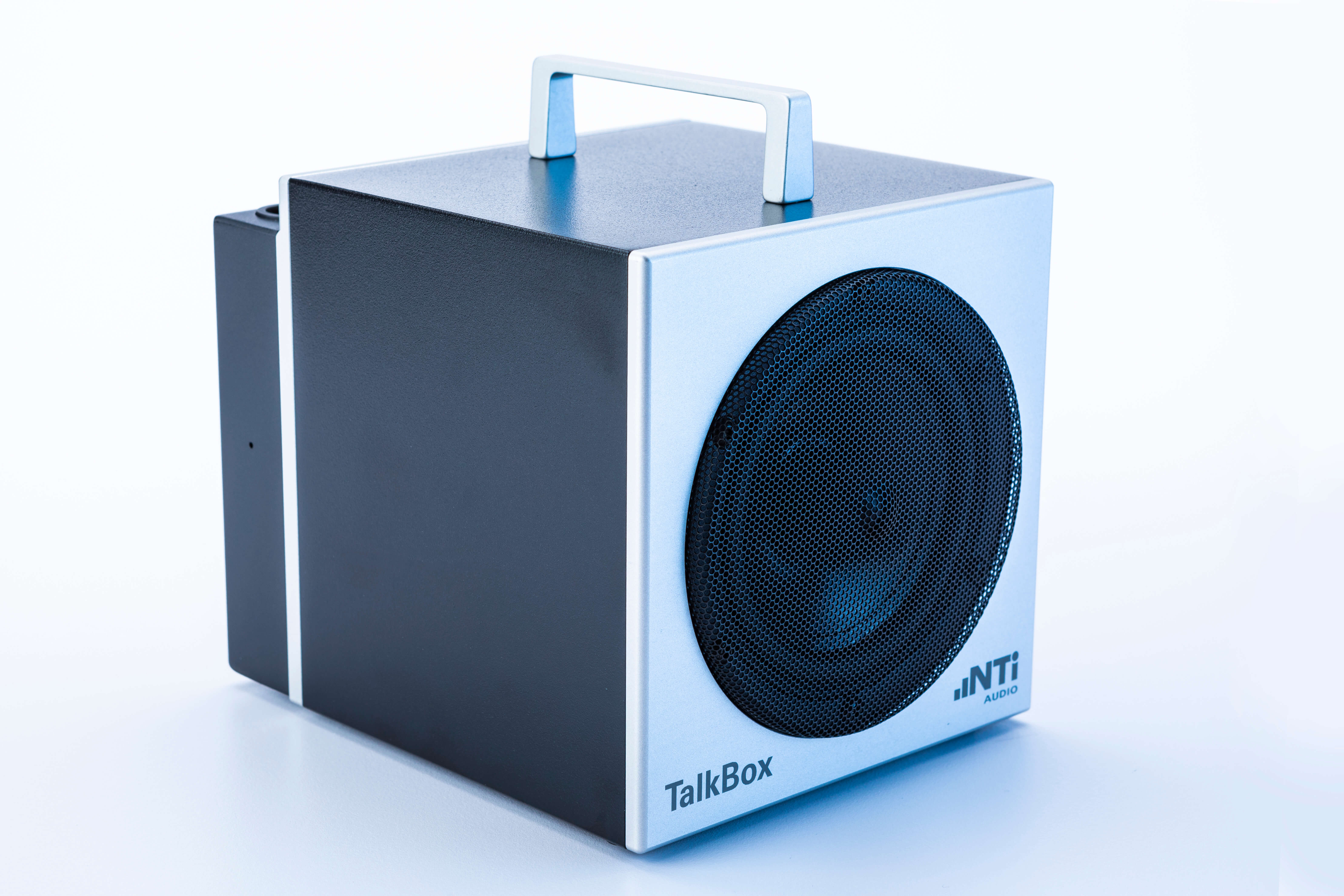 NTi-TalkBox-perspecive-right-white-and-blue